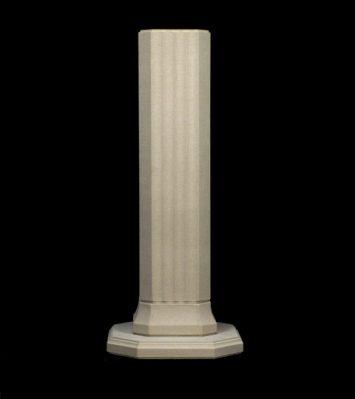 38 inch Slender Athenian Pedestal