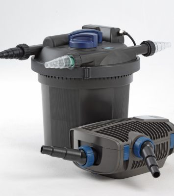 Pressure Filter (with Cleaning Function) - FiltoClear Set 6000