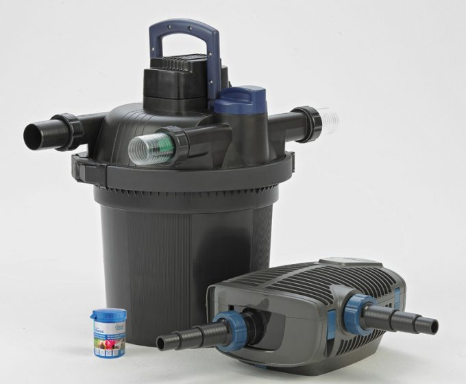 Pressure Filter (with Cleaning Function) - FiltoClear Set 12000