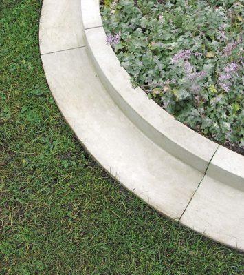 Arcadian Lawn Edging External Curve Radius 1000mm