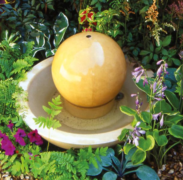 Ball Pebble Bowl Fountain