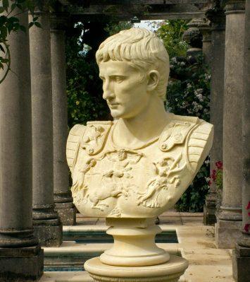 Caesar Augustus bust