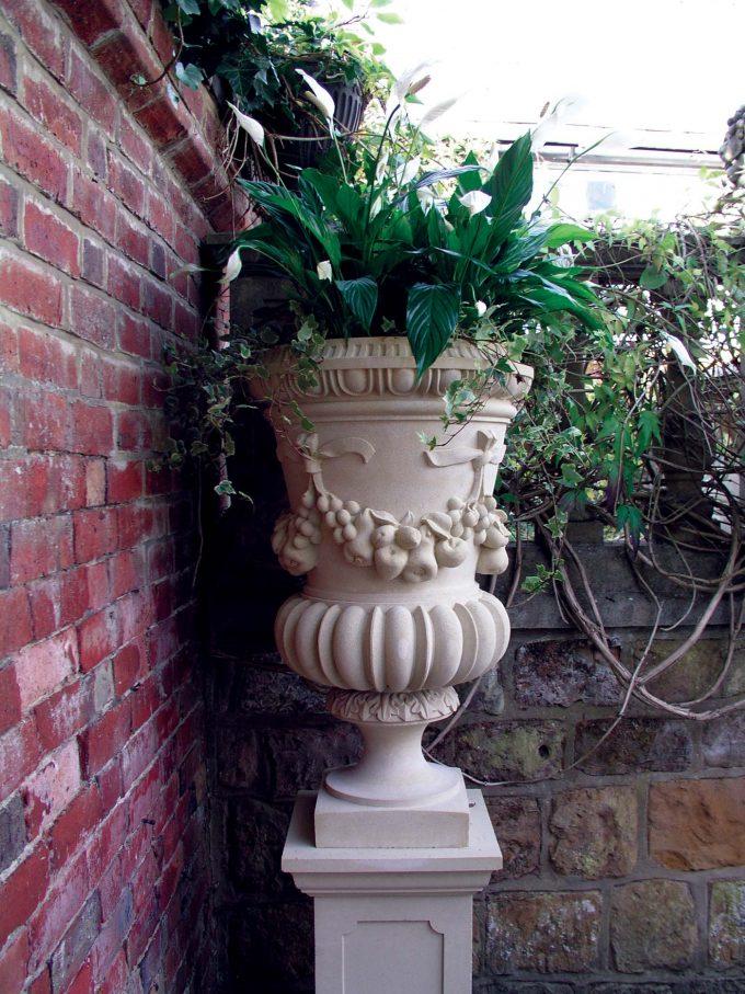 Festooned Vase
