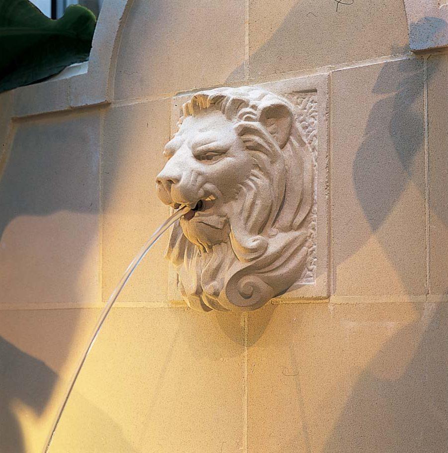Lion Wall Fountain Haddonstone