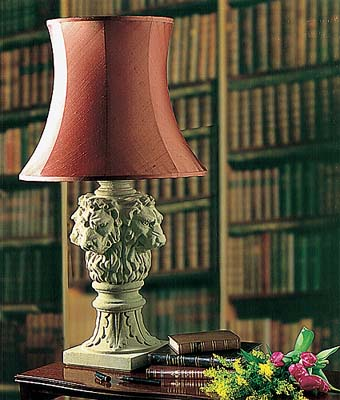 Lion-head Table Lamp (Shade not included)