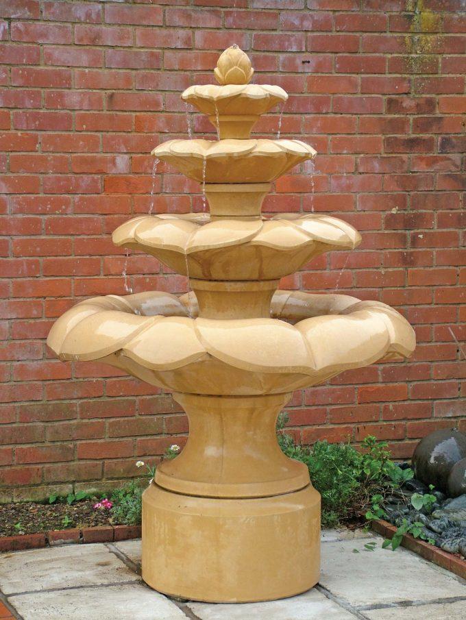 Lotus Bud Fountain