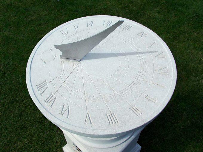 Memorial Classical Sundial and Pedestal