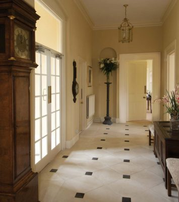Orangery Floor Tile Side Infill Block HN750C
