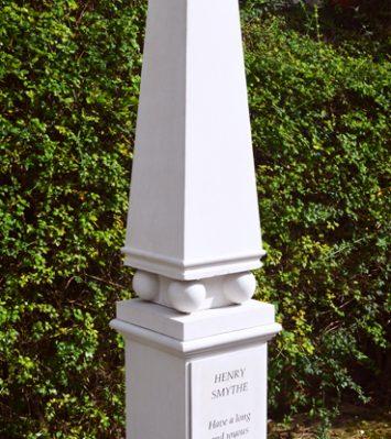 Personalised Obelisk & Pedestal