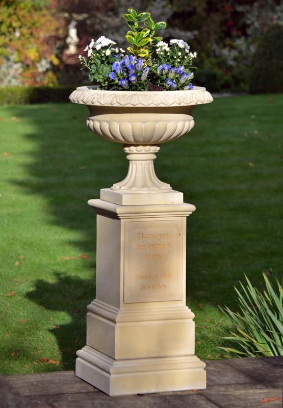 Personalised Urn & Pedestal