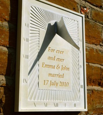 Personalised Wall Sundial