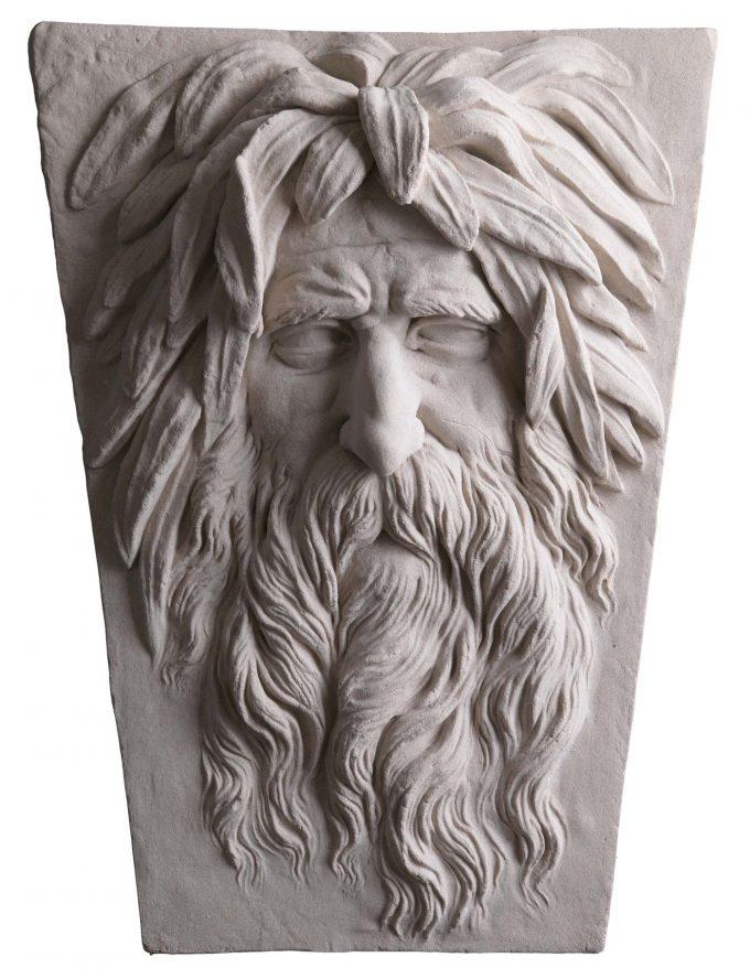Soane River God Mask