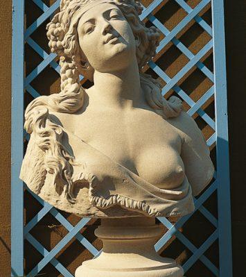 Bacchante bust