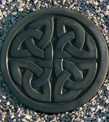 Celtic Stepping Stone ~ Woven