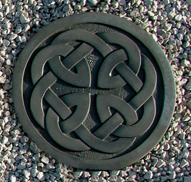 Celtic Stepping Stone ~ Knotted