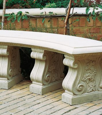 Curved 52 inch Bench Seat