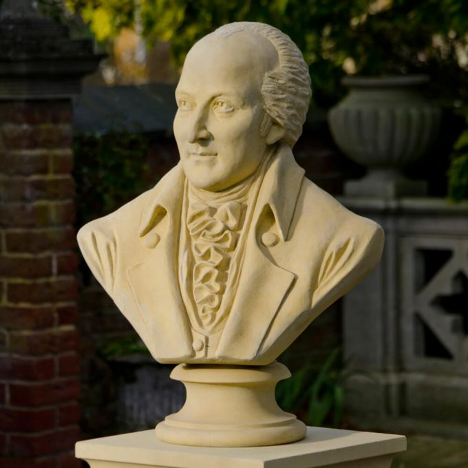 Humphry Repton bust