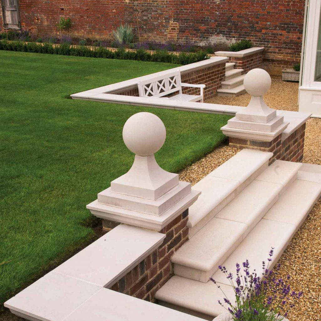 Cast stone copings
