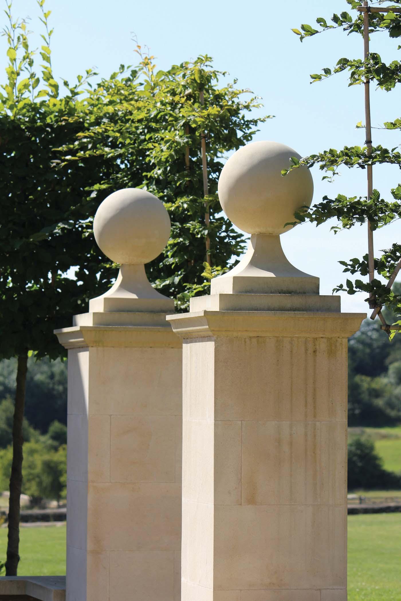 Cast Stone Pier Caps Haddonstone Gb