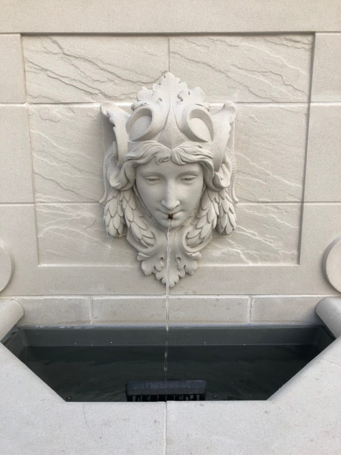 Dauphin Fountain with Wood Nymph