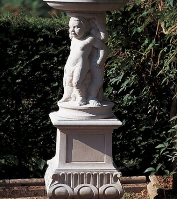 Jacobean Figured Sundial Plinth (for X710 Dial and Gnomon only)