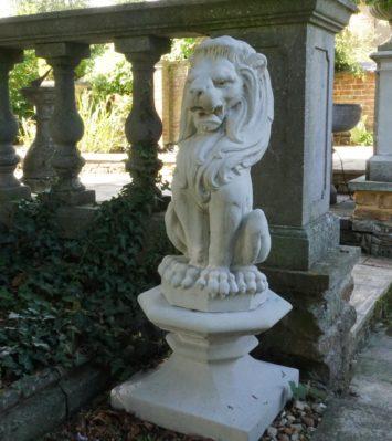 Lion Finial