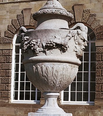 Margam Masked Urn