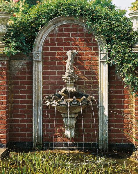 Shell Wall Fountain