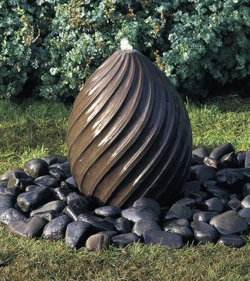 Spiral Egg Fountain