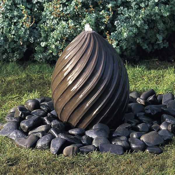 Spiral Egg Fountain