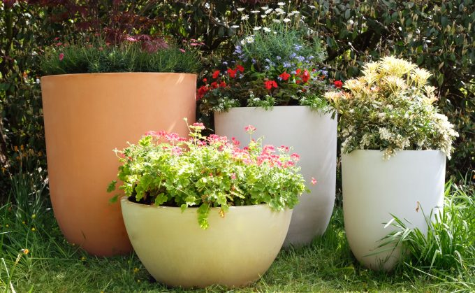 Large Crucible Planter