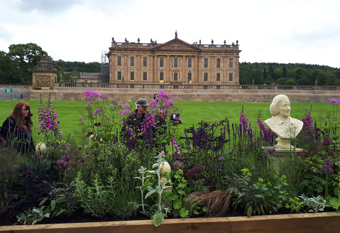 haddonstone capability bust photographed at chatsworth