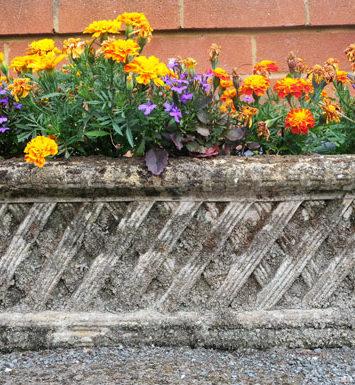 Belton Wall Trough, Bath (weathered)