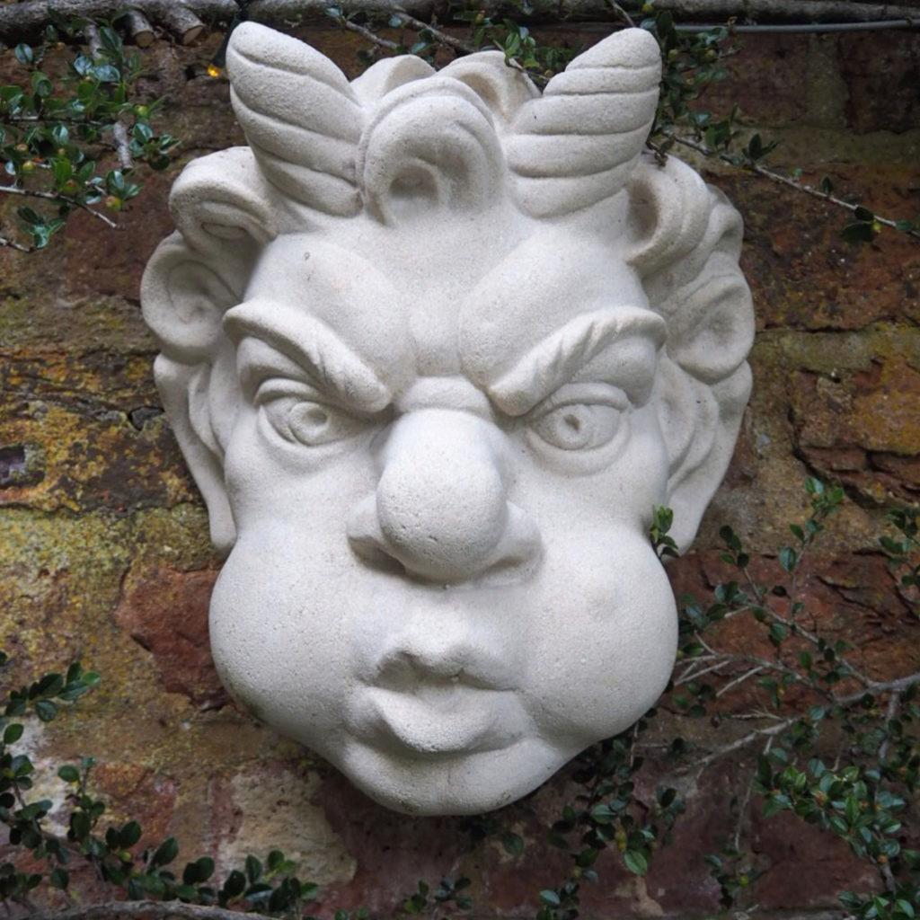 katy smith's haddonstone grotesque mask