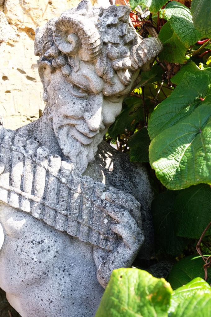 Bust of Pan, Portland (weathered)