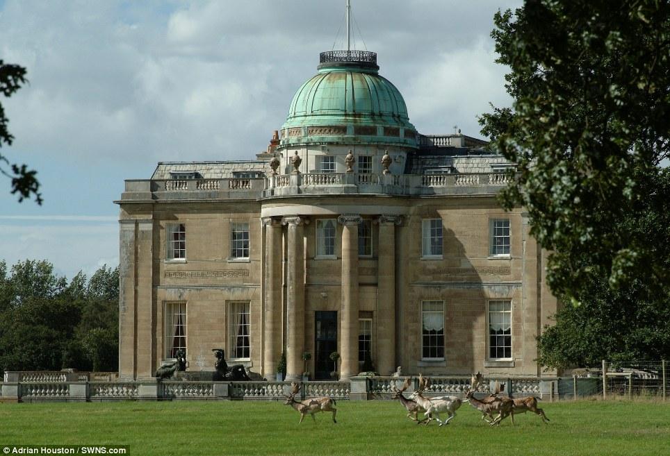 Photograph of Tyringham Hall