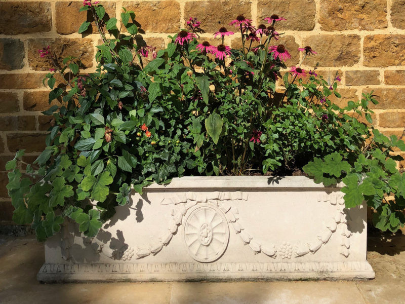 Large Adam Trough Planter from Haddonstone