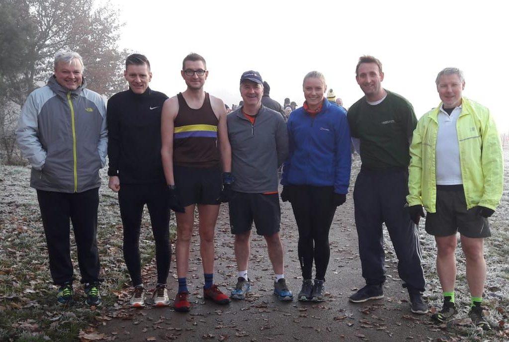 Haddonstone Park Run Team At The Inaugural Brixworth Park Run