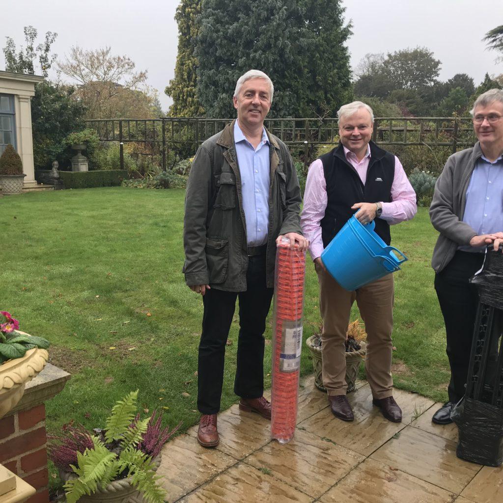 Brixworth Park Run Committee Members Including Nick Wilson With David Barrow