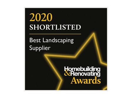 home building and renovating awards best landscaping supplier badge
