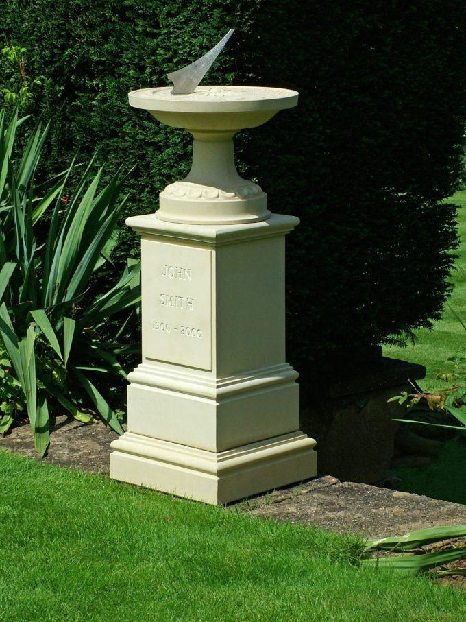 Memorial Celestial Sundial & Pedestal