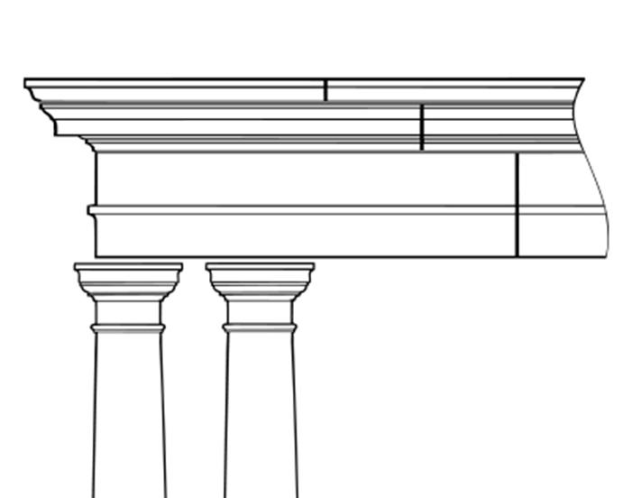 portico facade