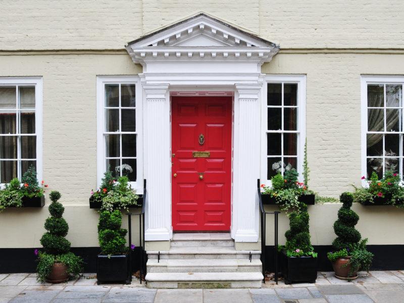 property with front door