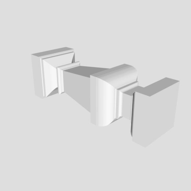 3D baluster bar