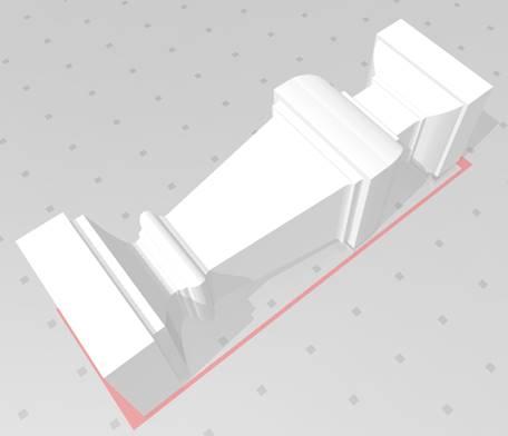 3D balustrade