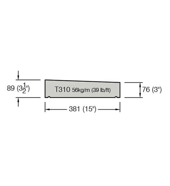 T310 Copings