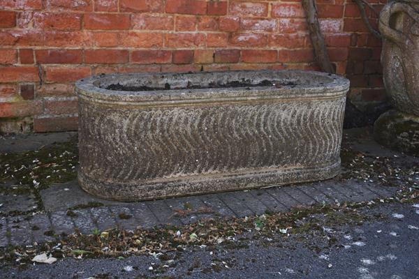 weathered roman trough