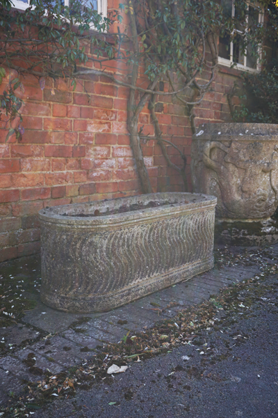 Roman Trough, Portland, two available (weathered)