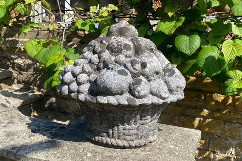 Basket of Fruit weathered