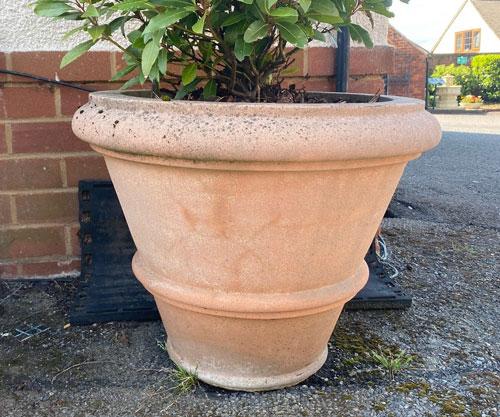 Roman Vase Weathered